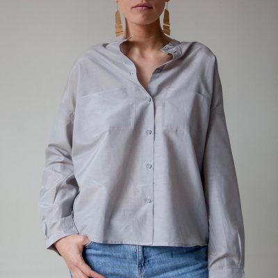 Snygg skjorta i bomull/siden. Du hittar den hos WE TWO STOCKHOLM