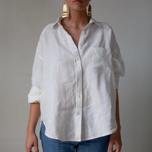 snygg linneskjorta
