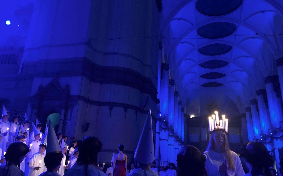 LUCIAKONSERT på Nordiska museet och modeutställning