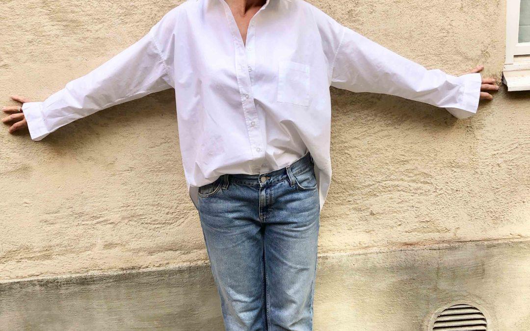 Så här stylar du den vita skjortan