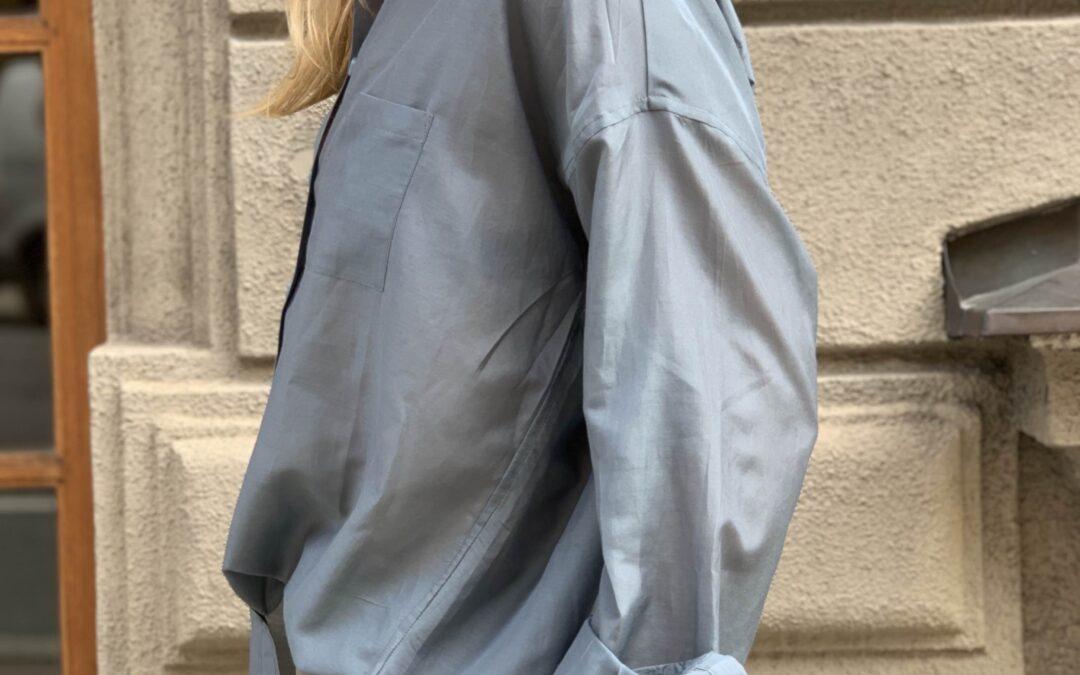 Tvättråd för sidenskjortan Emilia