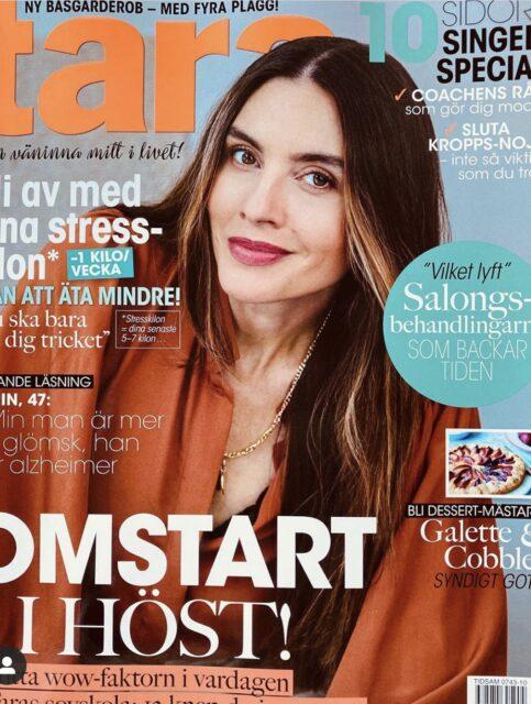 omslagsbild på tidningen tara, we two stockholm