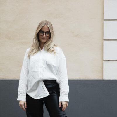 snyggaste vita bomullskjortan