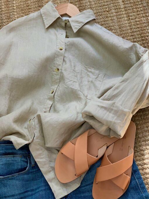 fina linneskjortor för dam