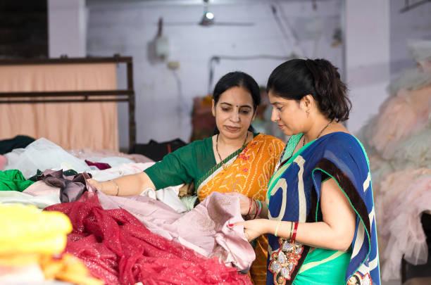 Klädtillverkning i Indien